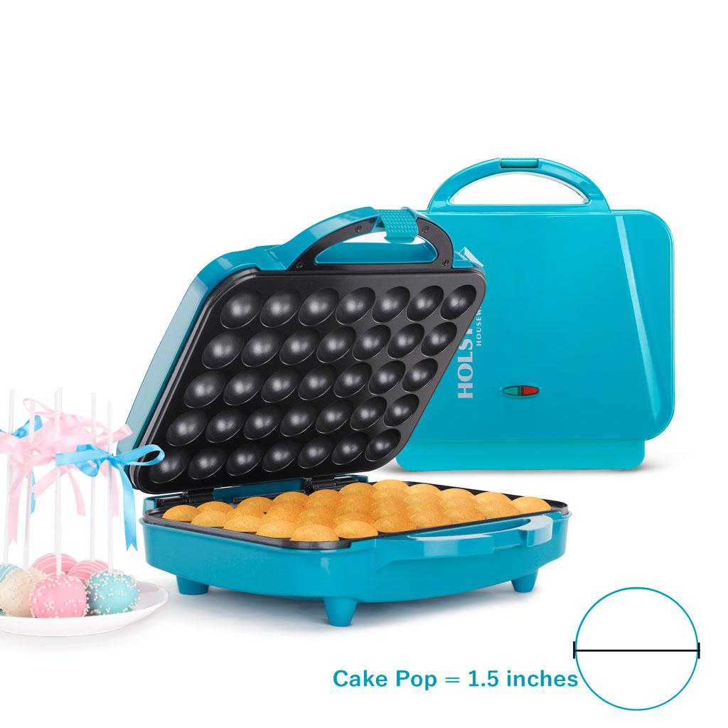 holstein housewares hf 09035e cake pop maker teal kitchen dining. Black Bedroom Furniture Sets. Home Design Ideas