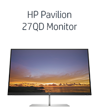HP Pavilion 27QD Monitor