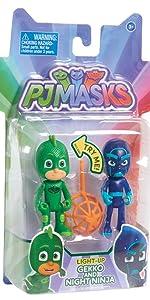 PJ Masks - Aventuras en la Luna, set figuras Gatuno (Bandai ...