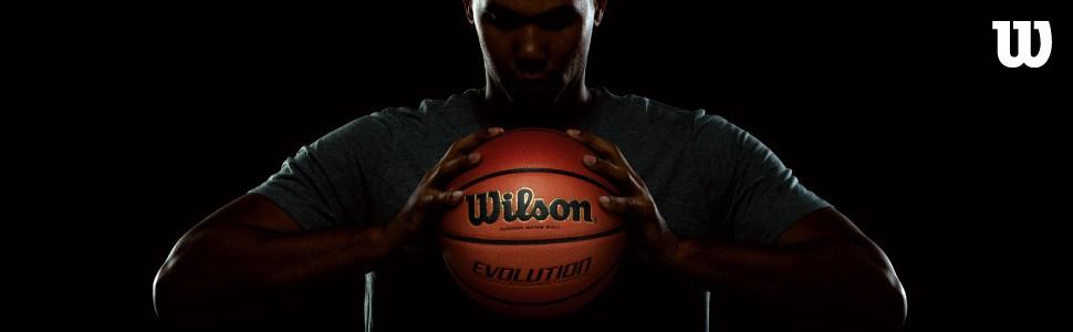 wilson; evolution; evolution basketball; wilson basketball; basketball; official basketball;