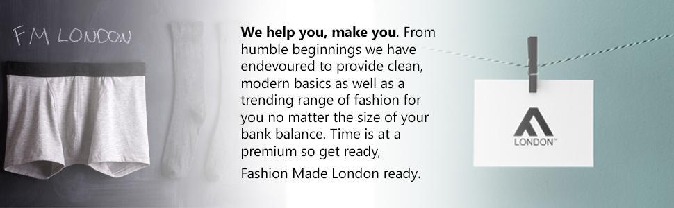 FM London 6-Pack Men's Socks with HyFresh Odour Protection Technology6-11 UK,