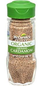 cCormick Gourmet Organic Ground Cardamom