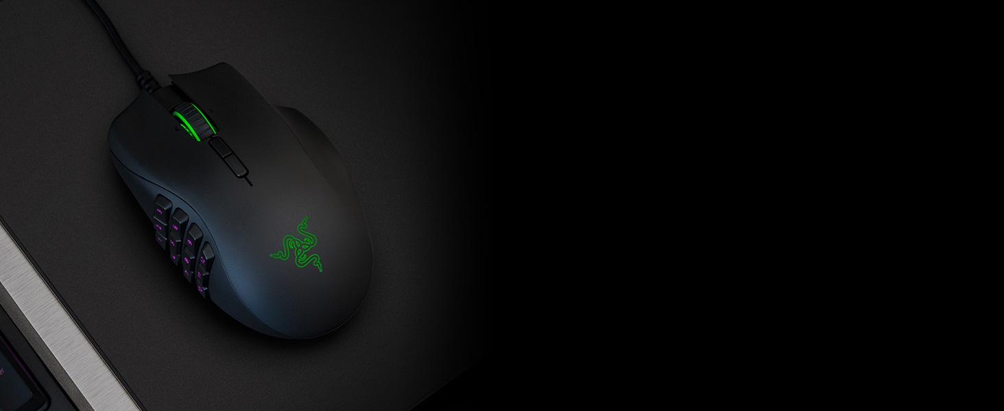 Razer Naga Trinity Gaming Mouse: 16,000 DPI Optical Sensor - Chroma RGB  Lighting - Interchangeable Side Plate w/ 2, 7, 12 Button Configurations -
