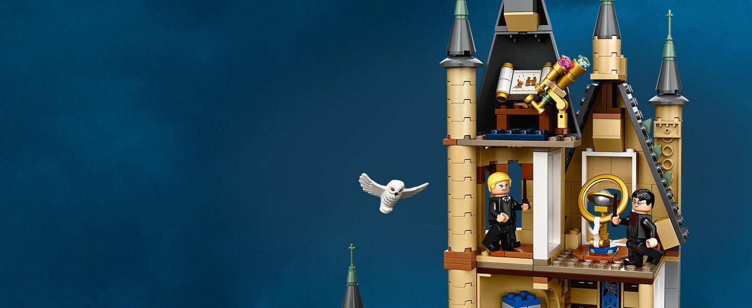 LEGO 75969 Harry Potter Torre de Astronomía de Hogwarts Juego de Contrucción para Niños +9 Años con 8 Mini Figuras