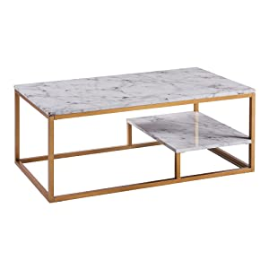faux marble coffee table Amazon.com: Versanora VNF 00036 Marmo Coffee Table, Faux Marble  faux marble coffee table