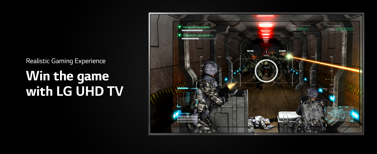 Win the Game with LG UHD TV