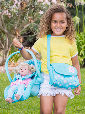baby doll stroller, baby doll accessories, doll stroller, baby doll carrier, baby doll car seat