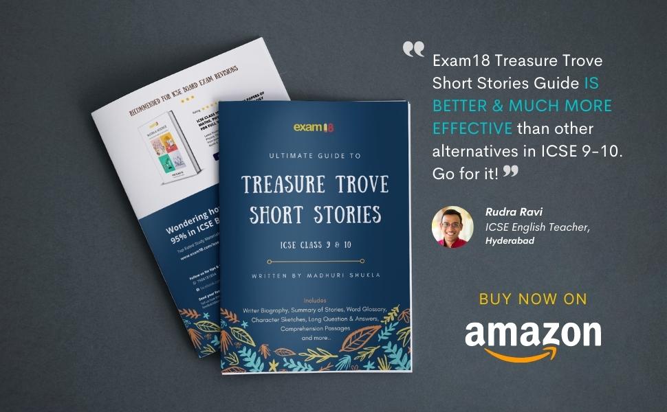 icse ultimate guide short stories exam18 exam 18 english literature class 9 class 10