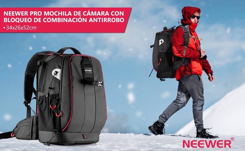 Neewer Pro 10087473 - Funda Impermeable con Cerradura Antirrobo de ...