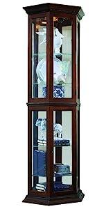 Corner Curio,Mirrored Curio,Half Round Curio,Sliding Door Curio,Display Case,Living Room Furniture