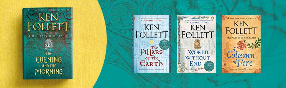 Ken Follett, Evening And The Morning, Ken Follett books