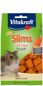rabbit, guinea pig, hamster, rodent, treat, crunchy, Vitakraft, Slims, small animal, carrot, mini