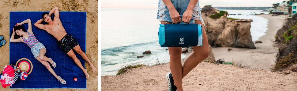 CGEAR SAND-FREE LIFE Unisexs SandLite Sand-Free Beach Blanket