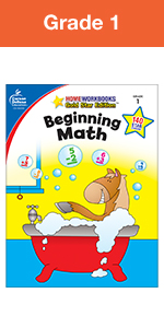 beginning math home workbook grade 1