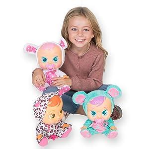IMC Toys - Bebés llorones Lala, multicolor (10581) con Duracell Ultra Power - Pack DE 12 Pilas alcalinas AAA