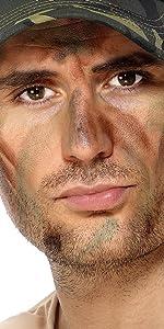 ... Maquillaje Militar Con Aplicador ...