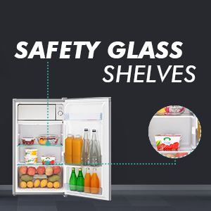 Safety Glass Shelves