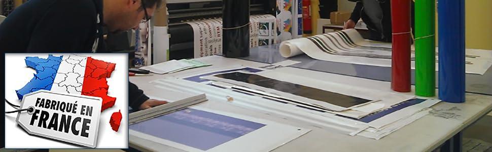 Sticker La Famille C'est là où la Vie Commence. Taille 60x25 cm - Marque Beestick (Noir