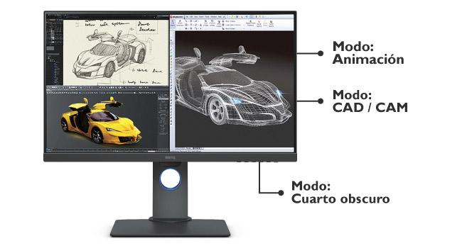 monitor pd2700u 4k diseño