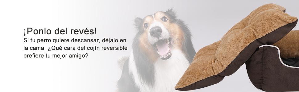 FEANDREA Cama para Perros, Sofá para Perros, Cesta para Perro con ...