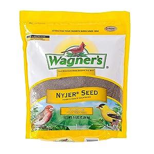 wagner's, bird food, bird seed, nyjer bird food, nyjer bird seed, wagner's bird seed