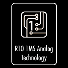 45X Faster Electronics with RTO Real Time One (1 millisecond to detect and report to the computer)
