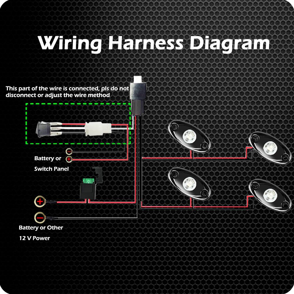 Wiring Diagram For Led Rock Lights This Page Contains All Info About
