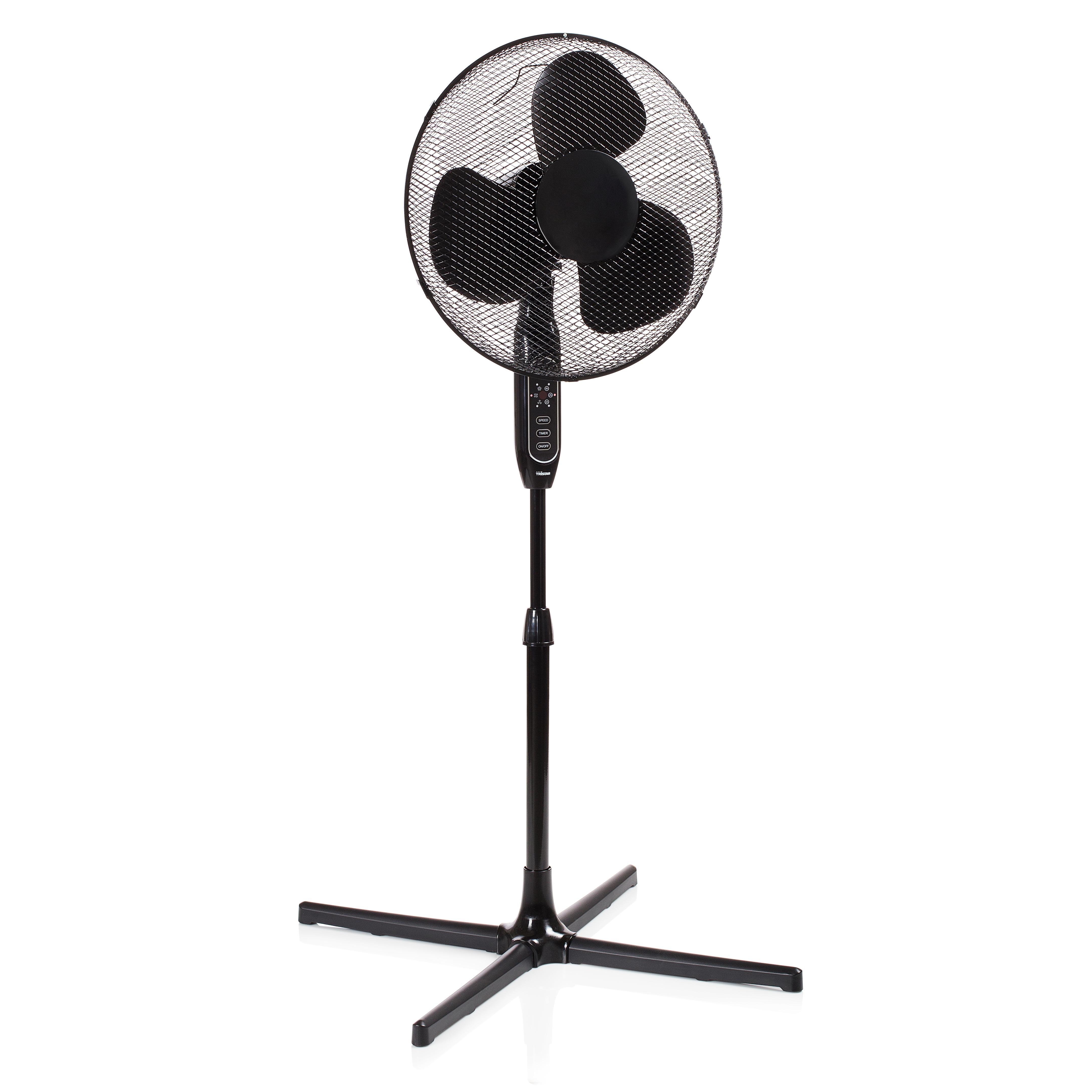 Ventilador de pie Tristar VE 5889 – 40 centímetros – Control remoto – Negro: Amazon.es: Hogar