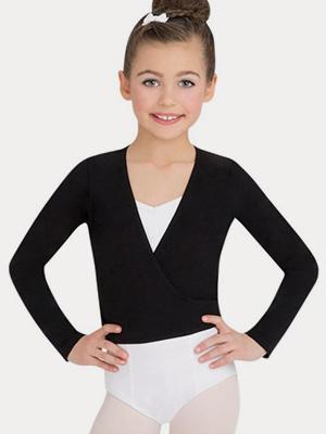 6539a4a94 Amazon.com  Capezio Big Girls  Classics Wrap Top  Clothing