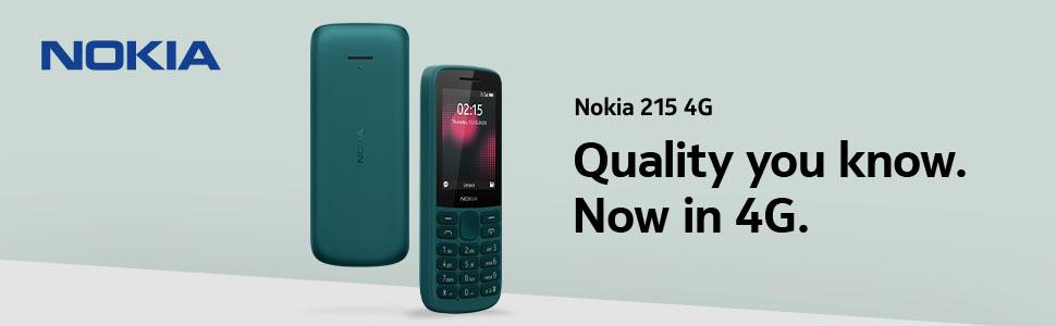 Nokia 215 4G Cyan Green