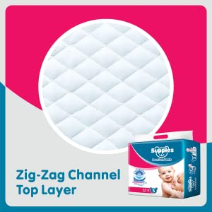 Supples Premium Pants Small Size Diapers (78 Count)