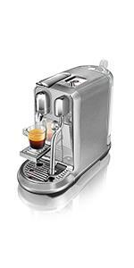Nespresso Creatista Plus by Sage, SNE800BSS,, Stainless Steel