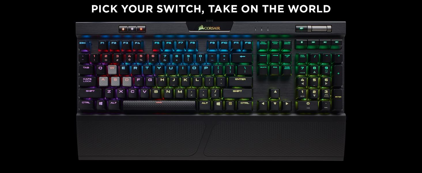 K70 RGB MK.2 MECHANICAL GAMING KEYBOARD