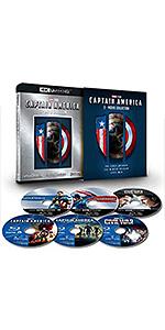 キャプテン・アメリカ:4K UHD 3ムービー・コレクション