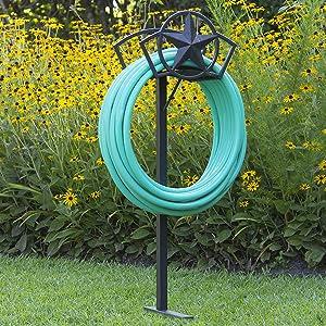 garden hose stand storage