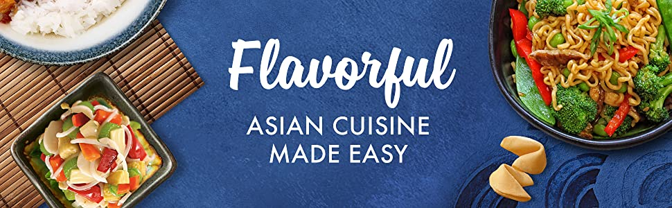 Flavorful asian meals made easy – La Choy