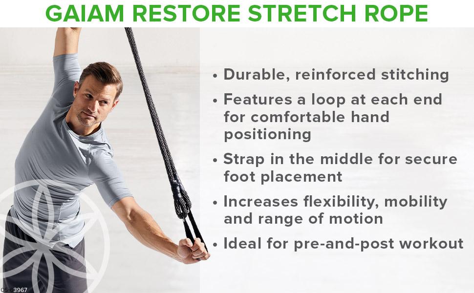 Gaiam Restore Stretch Rope