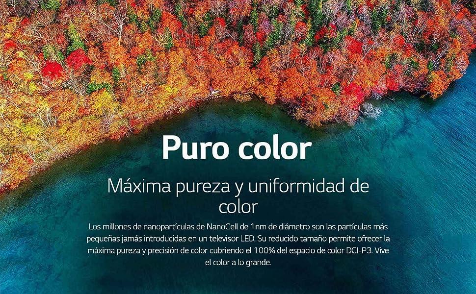 Máxima pureza y uniformidad de color
