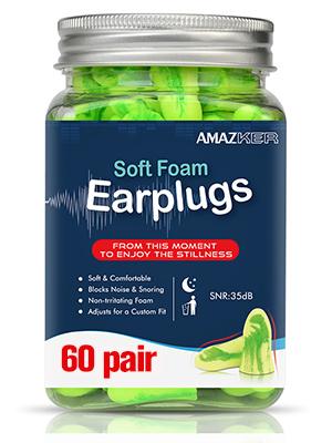 Amazon.com: Tapones para los oídos de espuma con funda de ...