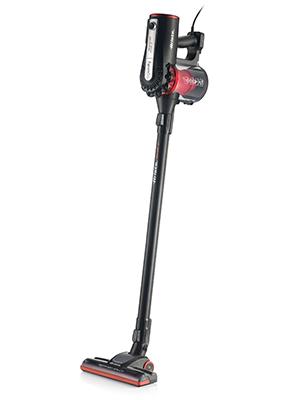 Ariete 2761 - Aspirador con Cable 2 en 1, de Mano y Escoba, Ciclónico, Filtro Hepa, 600 W, Color Rojo/Gris: Amazon.es: Hogar