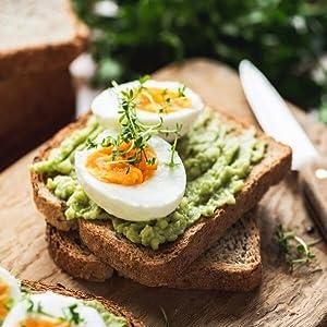 Cuiseur vapeur Ariete Healthy Steam 911 cuisson à la vapeur œuf à la vapeur avocat toast