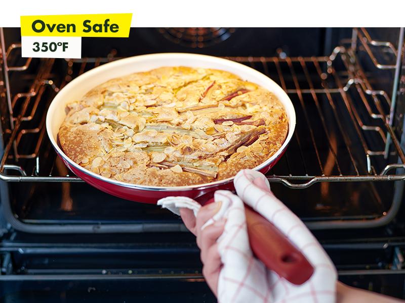 GreenPan, Rio, Healthy Ceramic Nonstick, Cookware, oven safe, frypan, durable, stay cool, diamond
