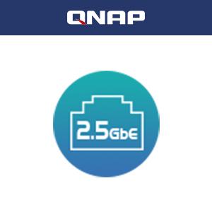 デュアル2.5GbEポートにより、チームやデバイスの間、またはゲーミングストレージアプリケーションでのファイル共有が加速します。