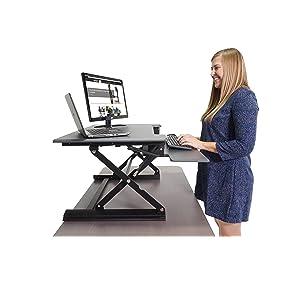 Amazon Com Victor Dcx760 Height Adjustable Sit Stand