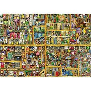 Amazon Ravensburger Magical Bookcase Jigsaw Puzzle 18000 Piece