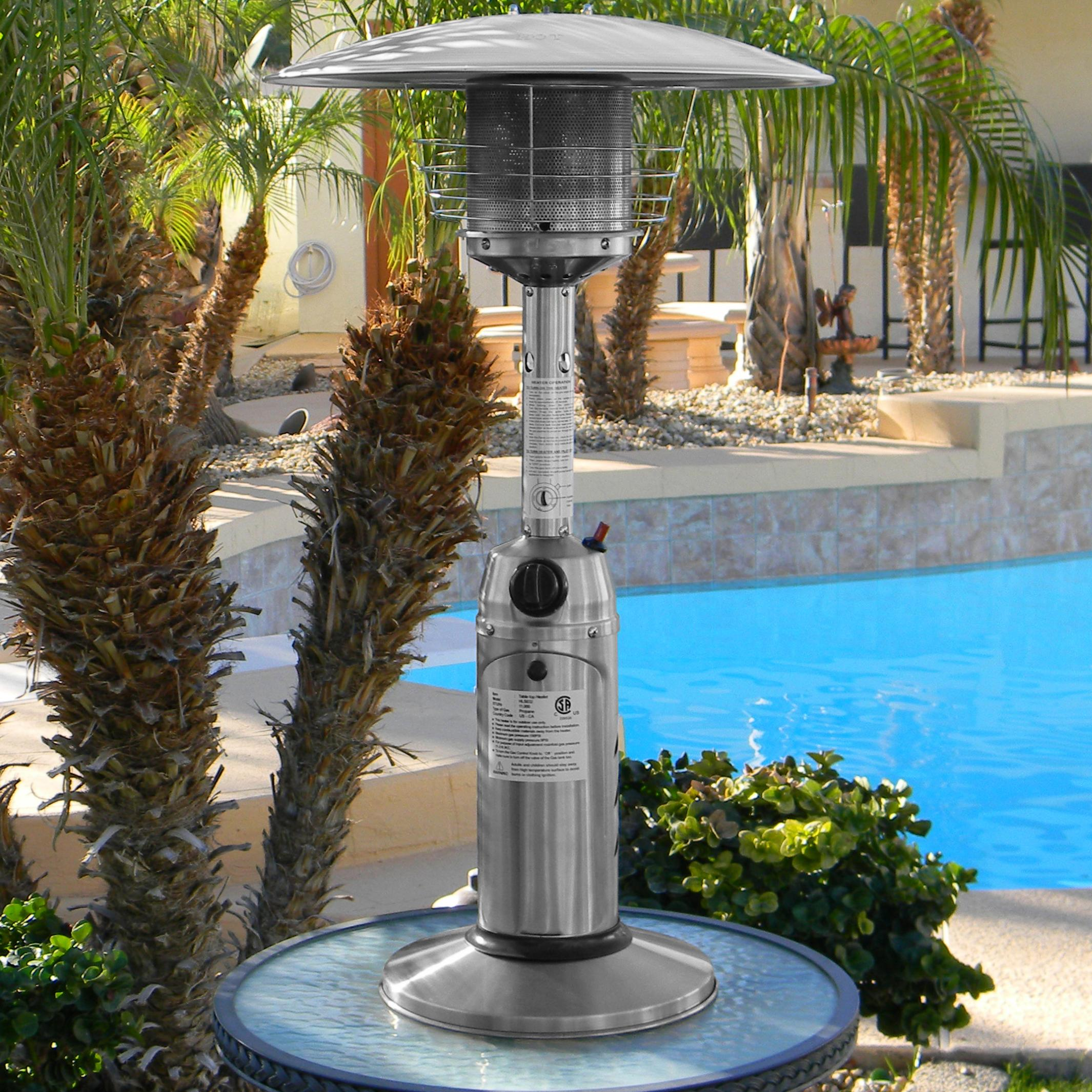 glass with heater of stainless ember red best mercial patio tube steel lovely heaters