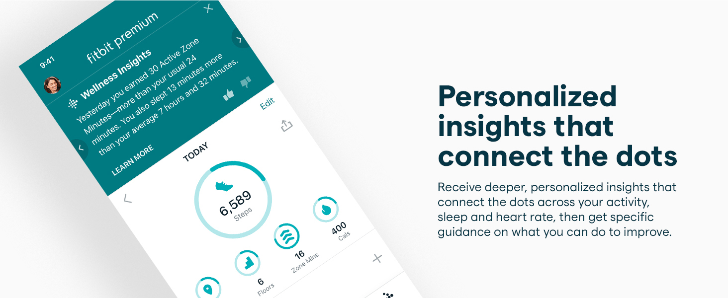 personalized insights that connect the dots
