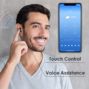 TWS Bluetooth Earbuds