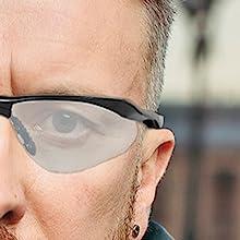 Full protection glasses