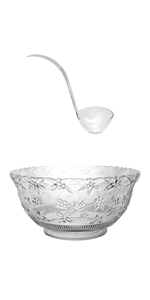 N120621L punch bowls with ladle